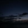 月とグラデーション