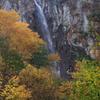 秋の米子大瀑布(不動滝)