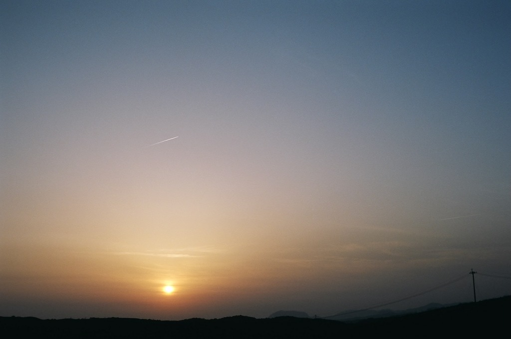 阿蘇の夕日