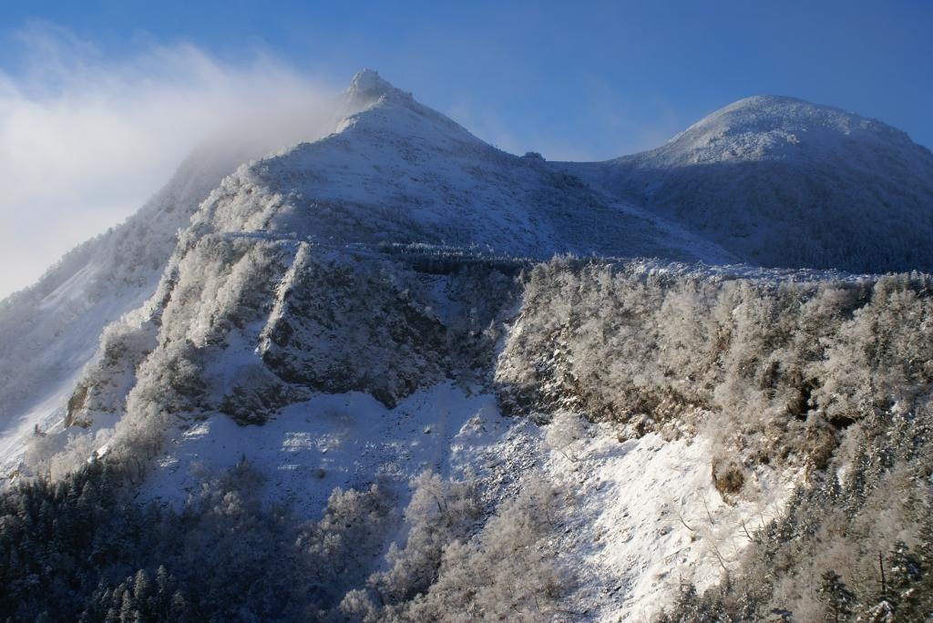 厳冬の天狗岳