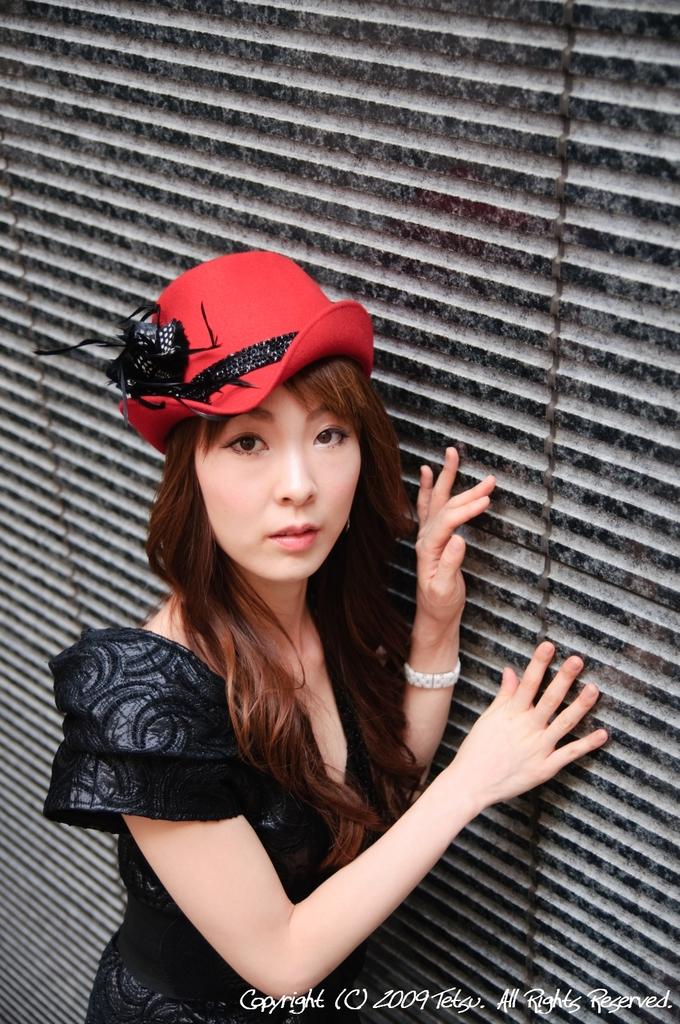 model 千春さん