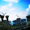 廃墟の屋上から -LOMO LC-A-