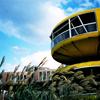 UFO屋敷と青空 -LOMO  LC-A-