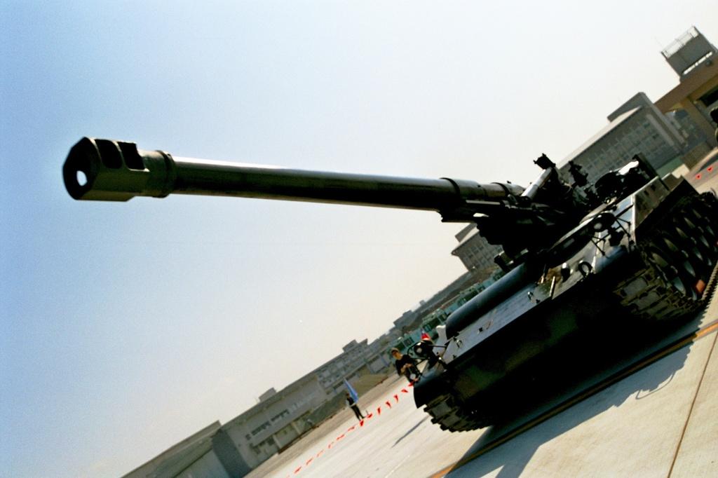 戦車の正面