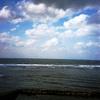 UFO屋敷から見渡す海 -LOMO  LC-A-