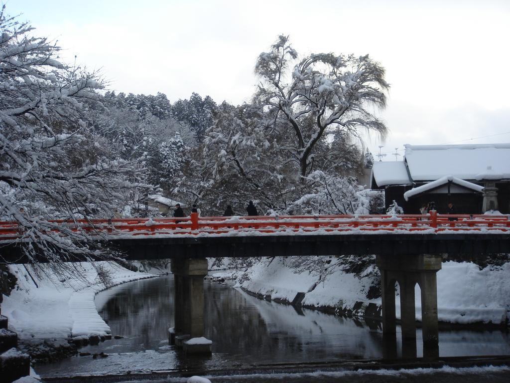 高山雪景色