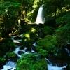 熊本西原村「白糸の滝」