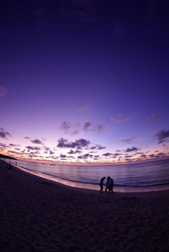 思い出の夕日