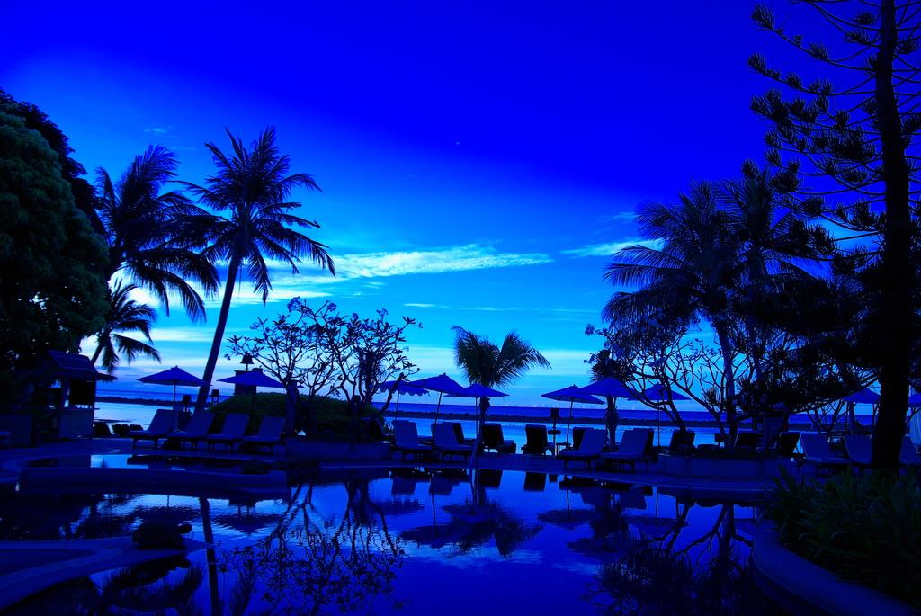 サムイ島で早起き