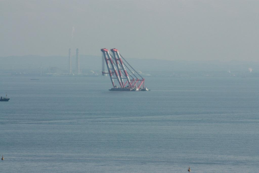 クレーン船