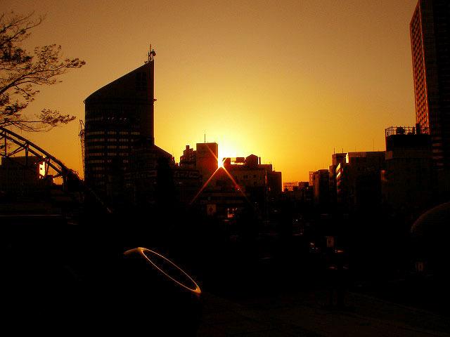 浜松の夕焼け