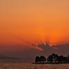 宍道湖(しんじこ)の夕日