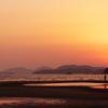 新舞子海岸の干潟2(たそがれ)