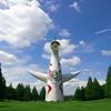 夏の万博記念公園1(太陽の塔)