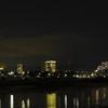 田舎町の夜景