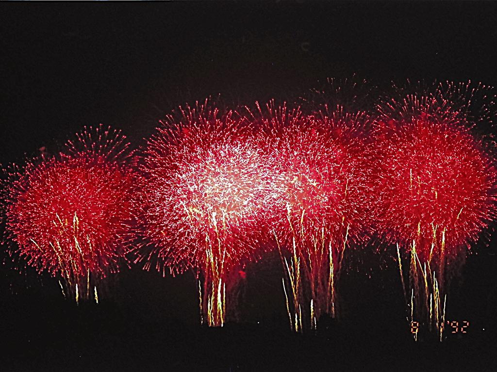 富田林の花火