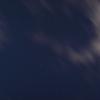 ケフェウス座付近の星空と白い雲