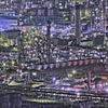 工場夜景-2