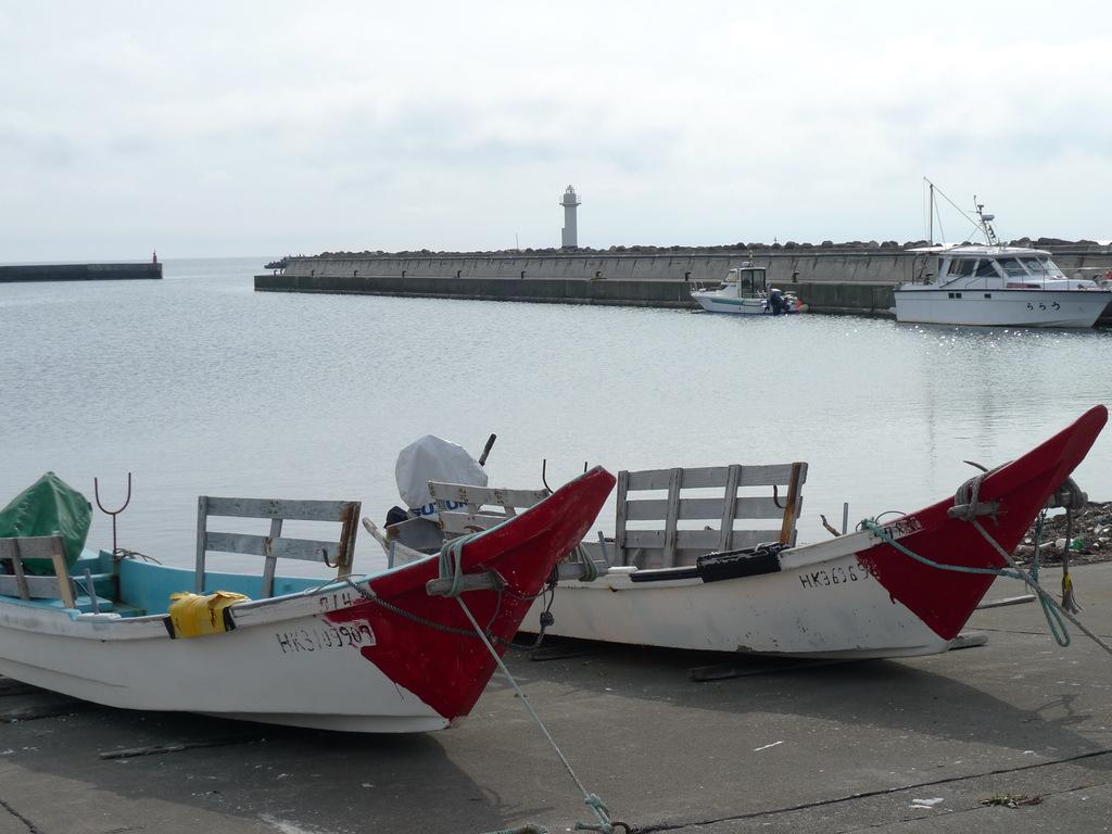 JALっぽい磯舟