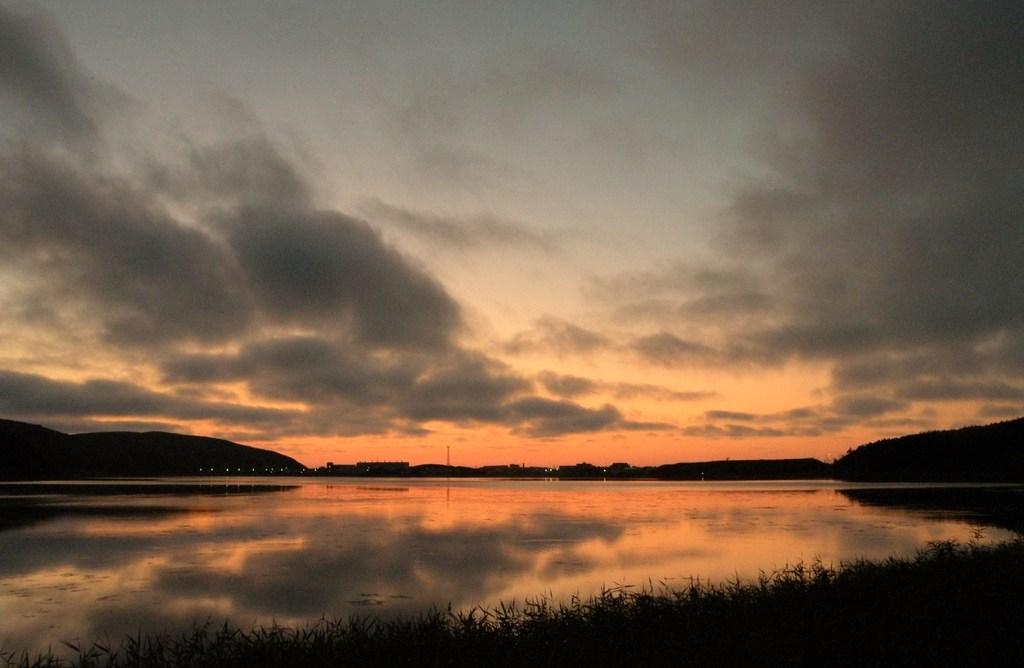 久種湖夕景4