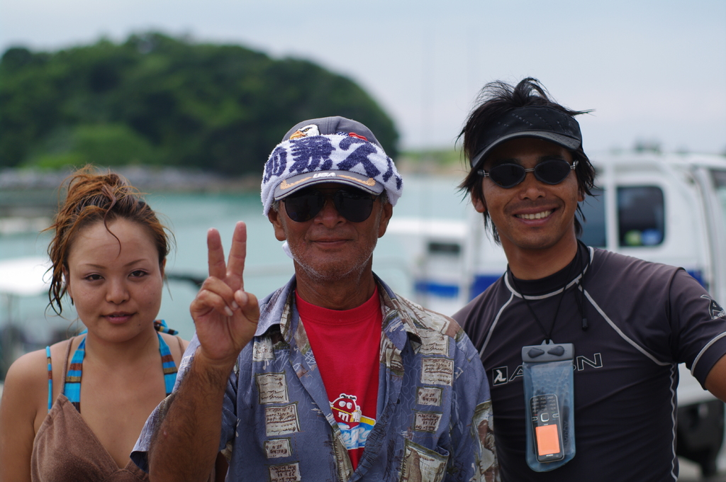 沖縄の海人