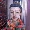 タイの木彫り人形