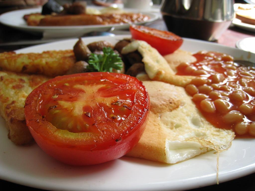 ダブリンで朝食を