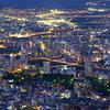 藻岩山から札幌の夜景③