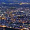 藻岩山から札幌の夜景④