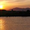 弥彦、信濃川、競馬場跡