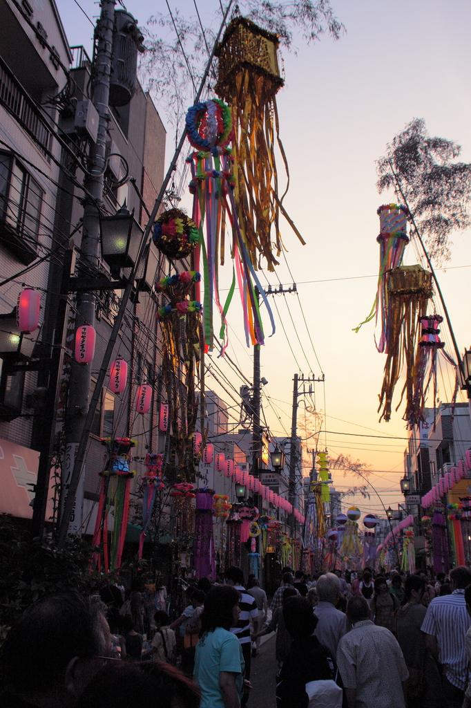 合羽橋七夕祭り