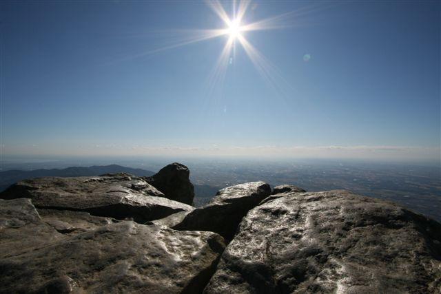 山からの眺め
