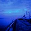 高松港夜明け前090713-01