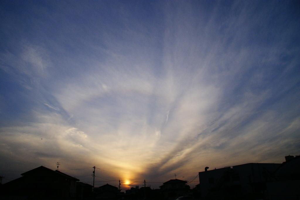 雲と夕日Ⅰ