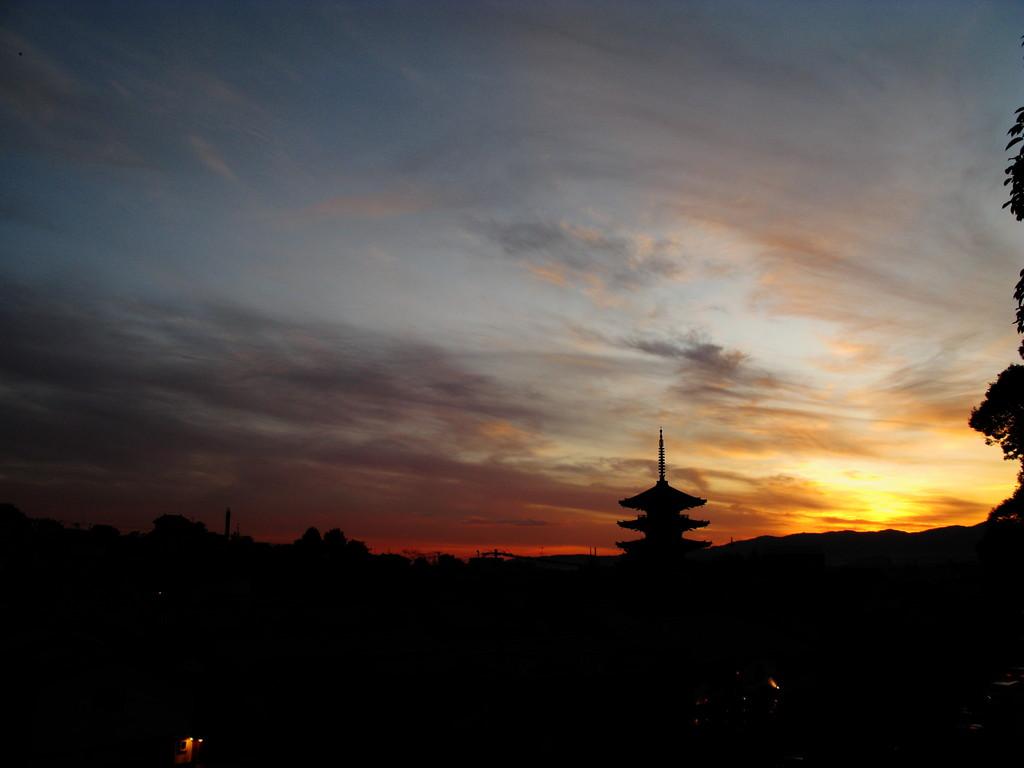 Sunset at Kyoto