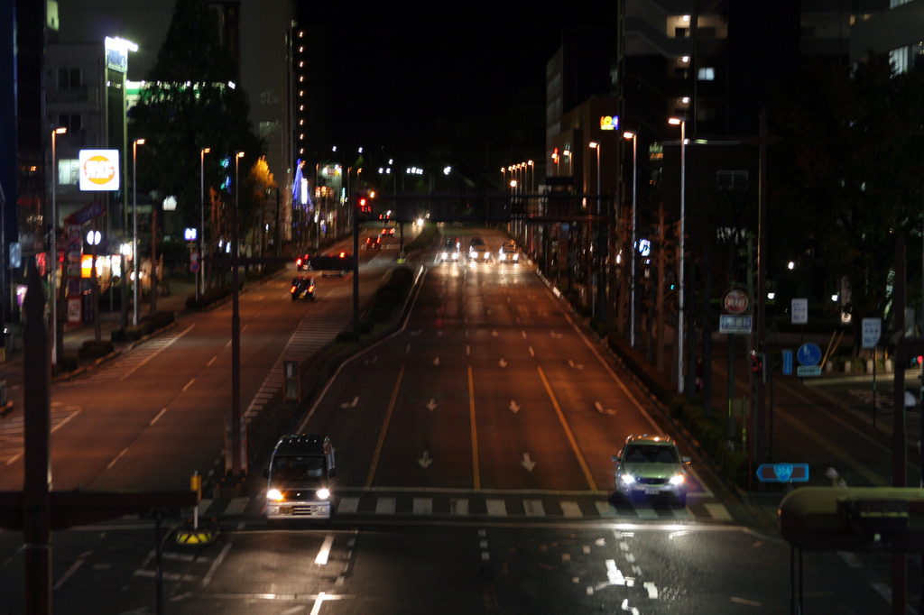 高崎駅東口夜景