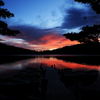 暁の白駒池
