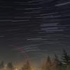 キャンプ場の夜空