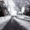 4年ぶりの雪道