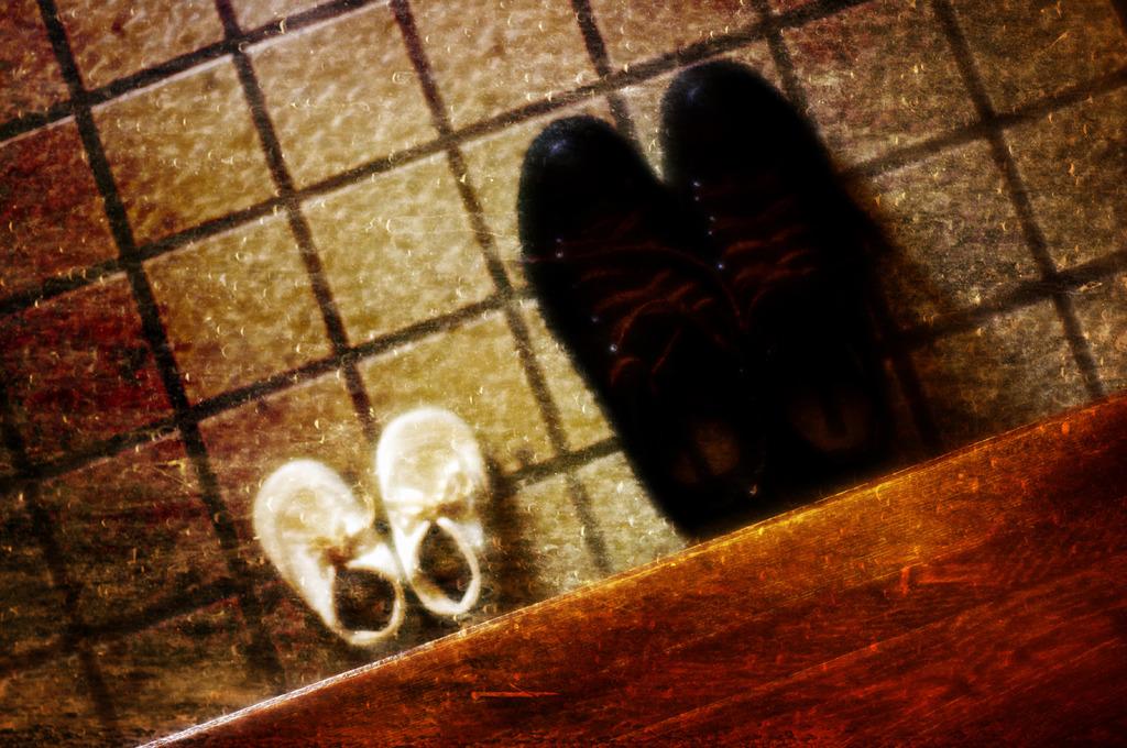 初めての靴。