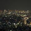 大阪東部の夜景