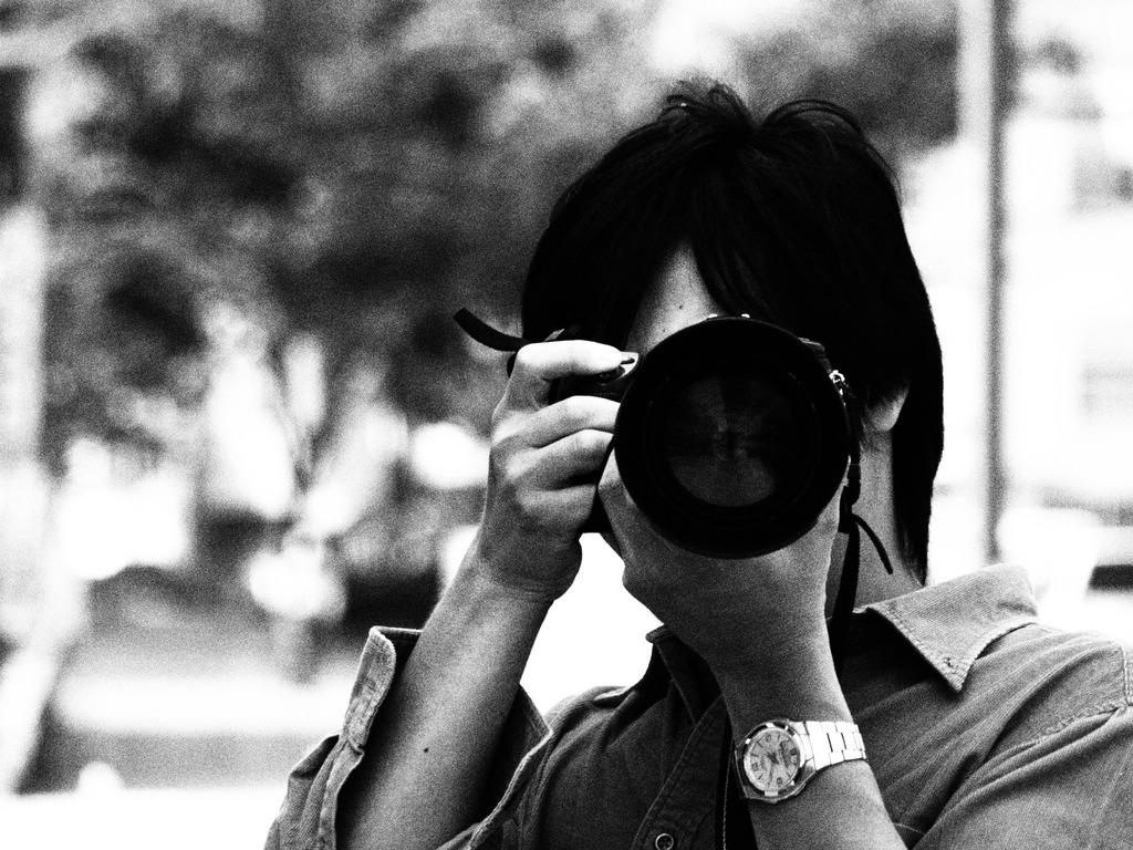 大好きなカメラマン