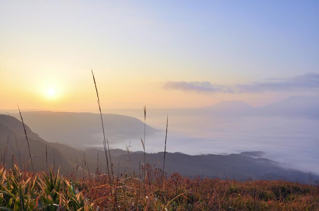 初めての雲海との出会い@大観峰