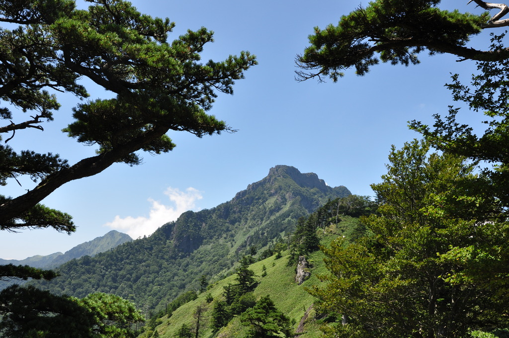 西日本最高峰,石鎚