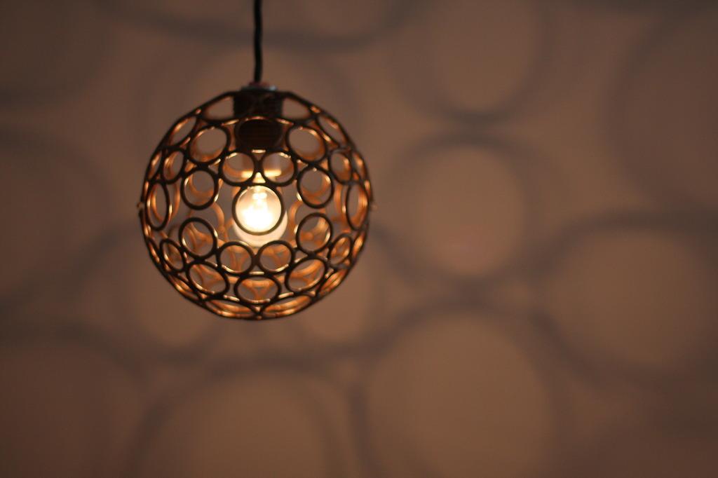 カフェ電球