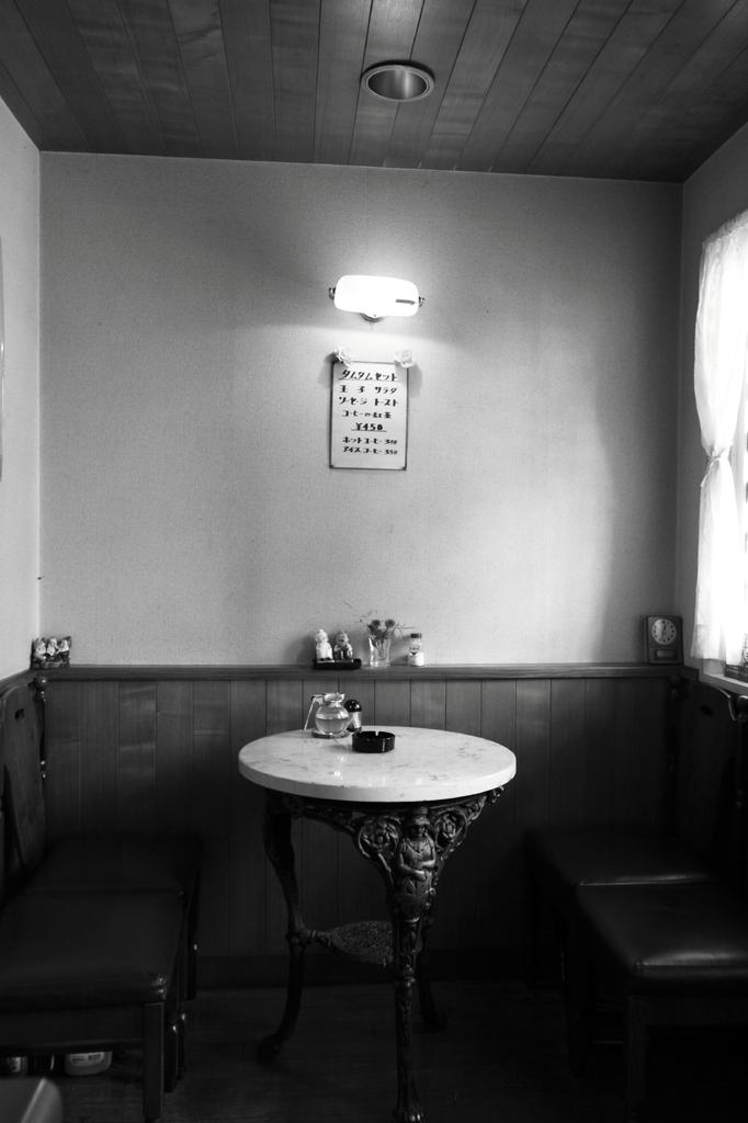 ある喫茶店のいつもの風景