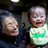 with grandma !!