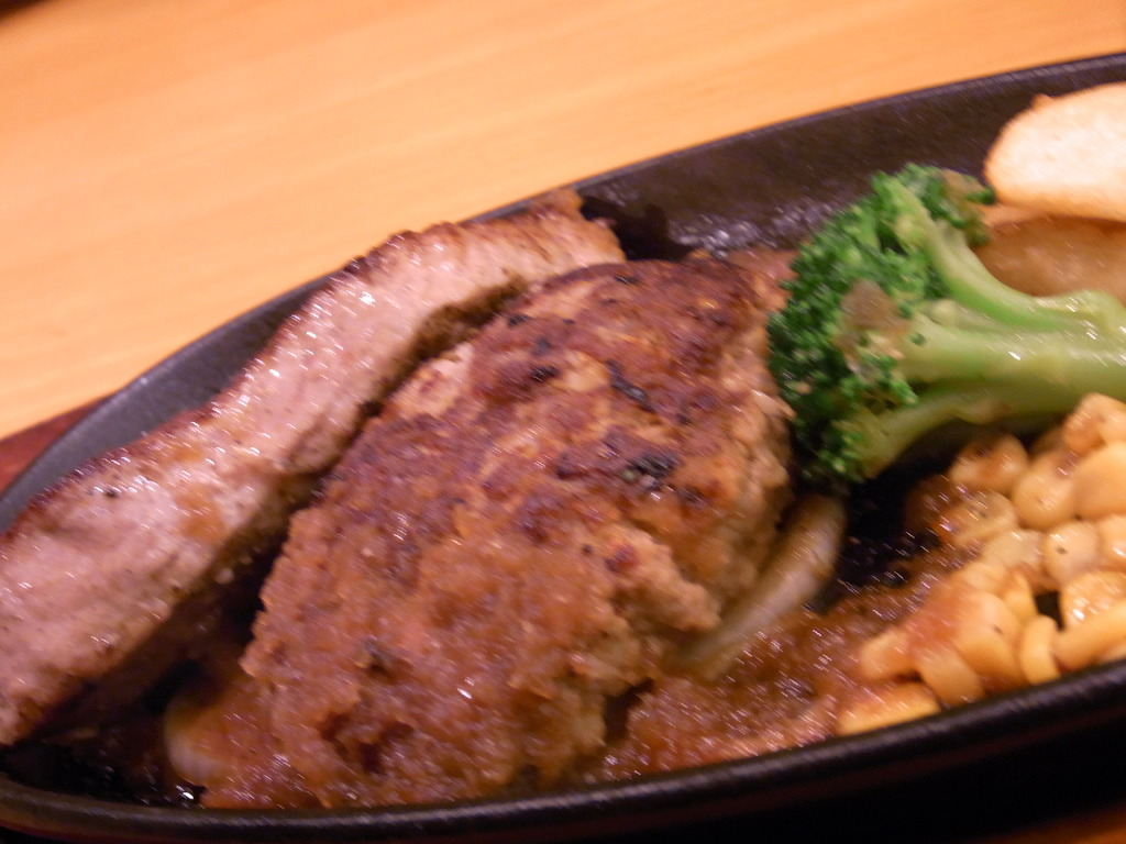 宮のステーキ