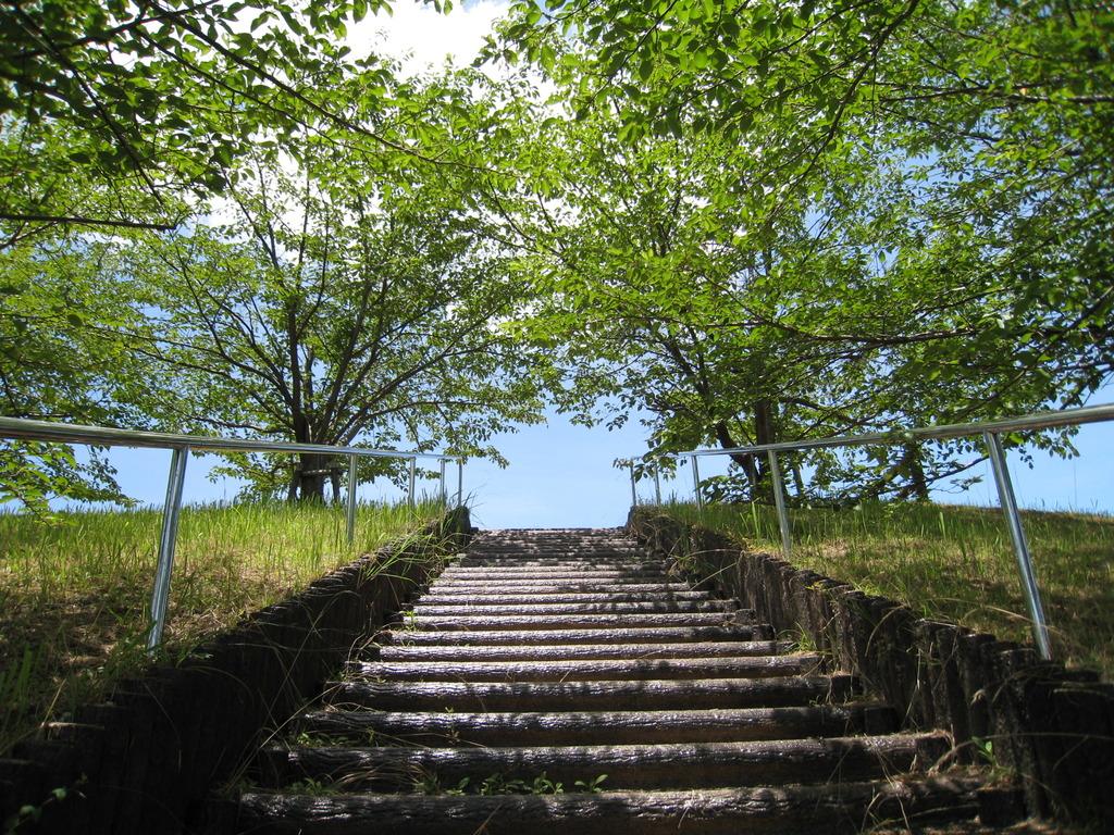 空への階段