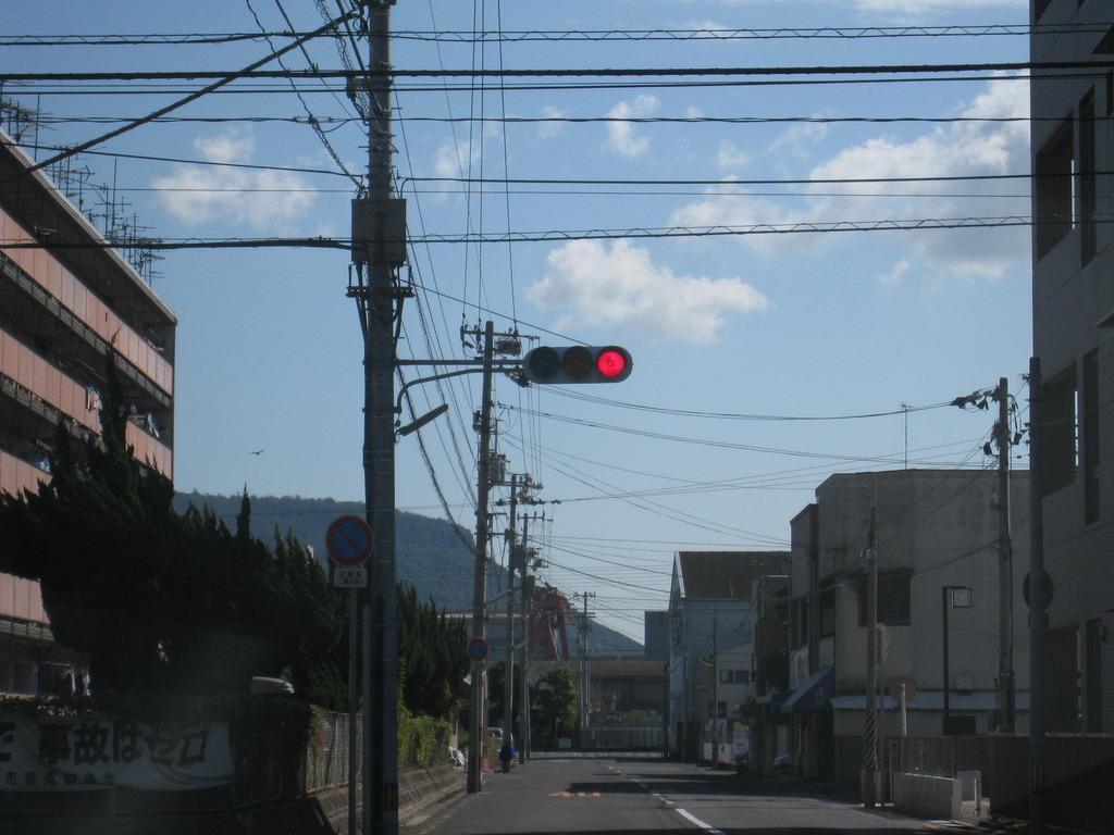 赤信号な風景